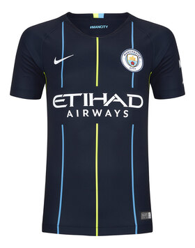 Kids Man City Away 18/19 Jersey
