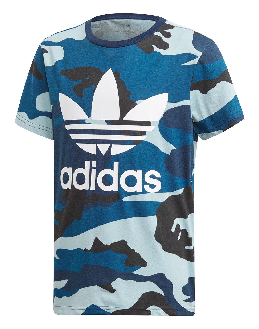 Kids Older Adidas Camo Shirt Originals T 3Lj54ARq