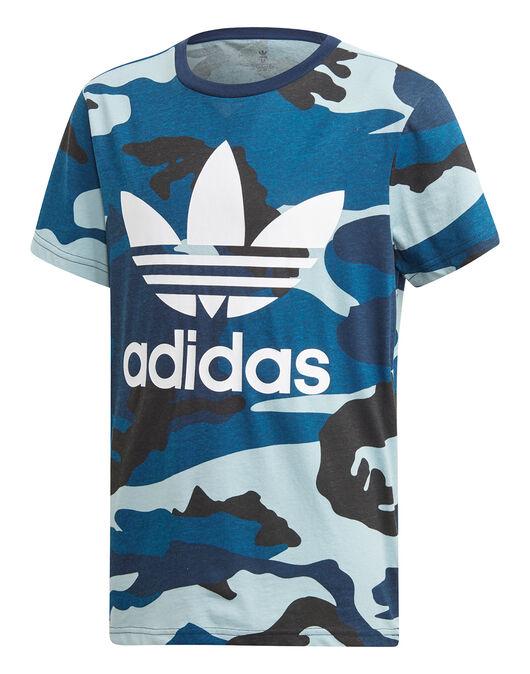 super populaire c5c3b 5b338 adidas Originals Older Kids Camo T-Shirt