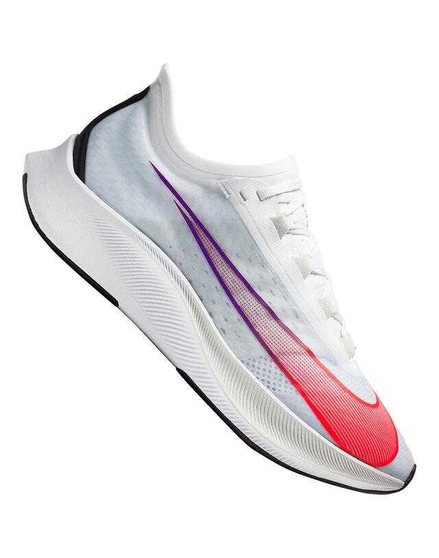 Nike Mens Zoom Fly 3 - White - 7