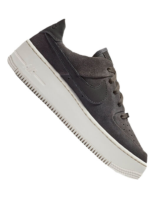 fbd94cb2e0d Women s Grey Nike Air Force 1 Platform