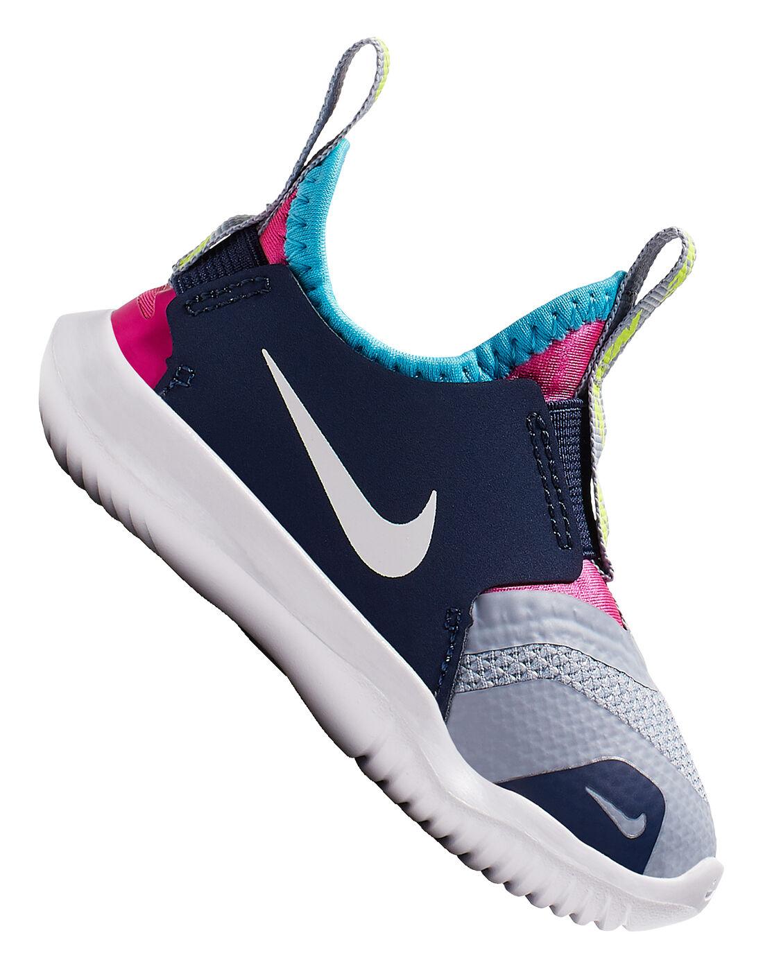 Infant Boys Blue Nike Flex Runner