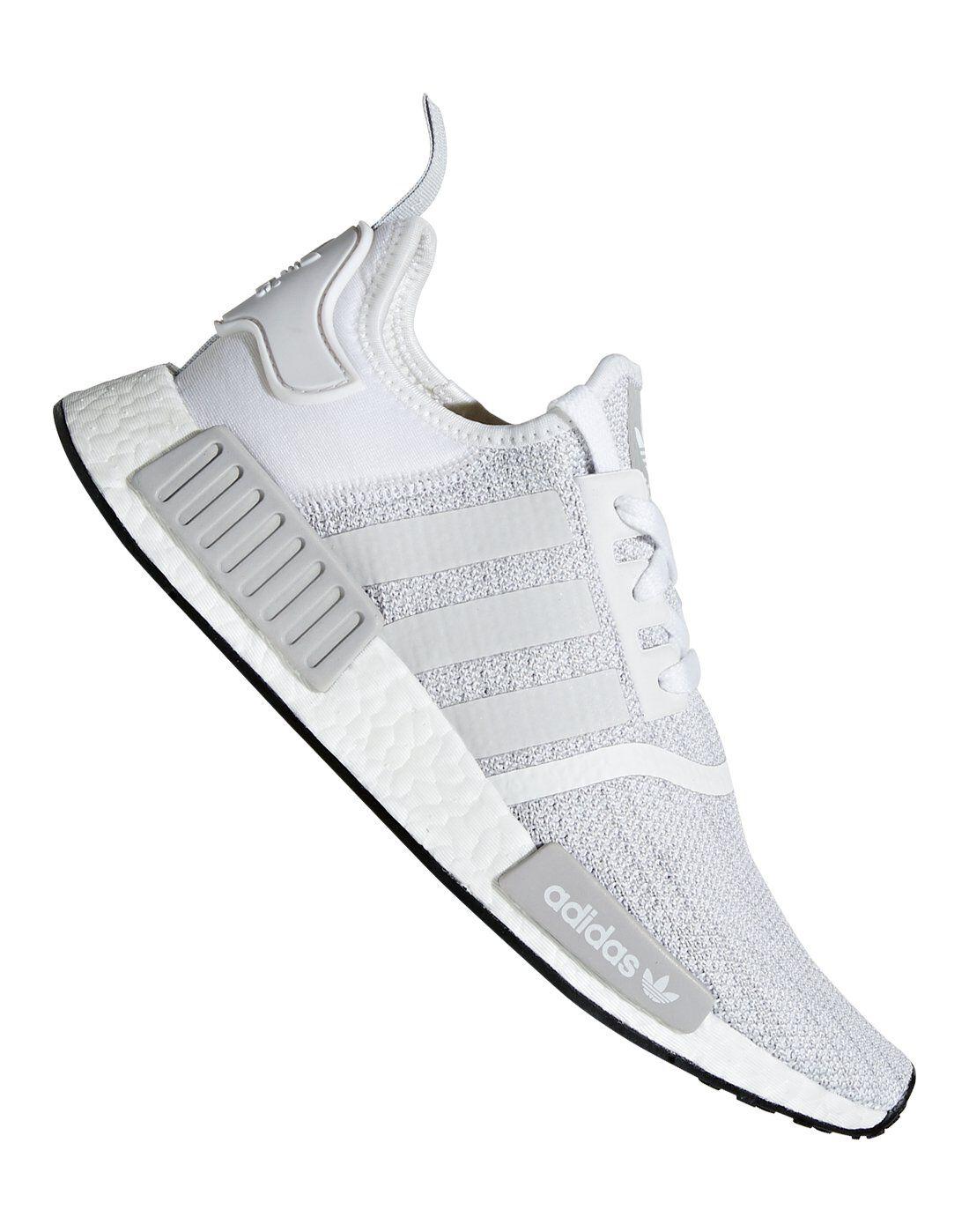 uomini è adidas originali nmd r1 bianco di stile di vita, sport