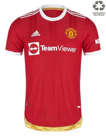 Adult Manchester United 21/22 Authentic Home Jersey