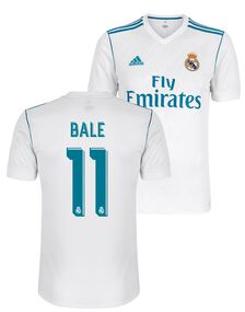 Adul Real Madrid Bale Home Jersey