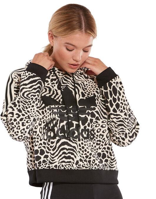 522f72d6 Women's Leopard Print adidas Originals Hoodie | Life Style Sports