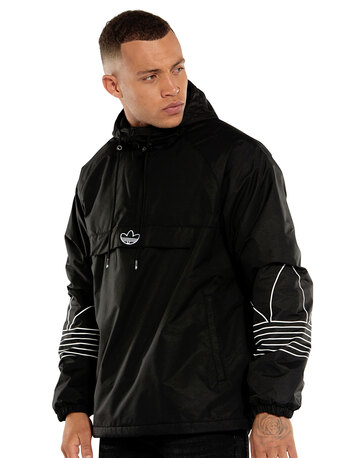 Mens Outline Trefoil Jacket