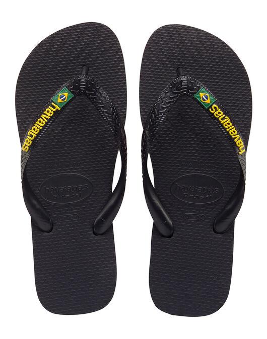 Mens Brasil Logo Flip Flop