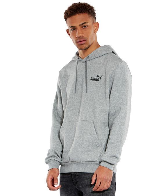Mens Logo Pullover Hoodie