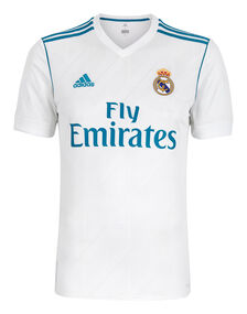 Mens Real Madrid Home 17/18 Jersey