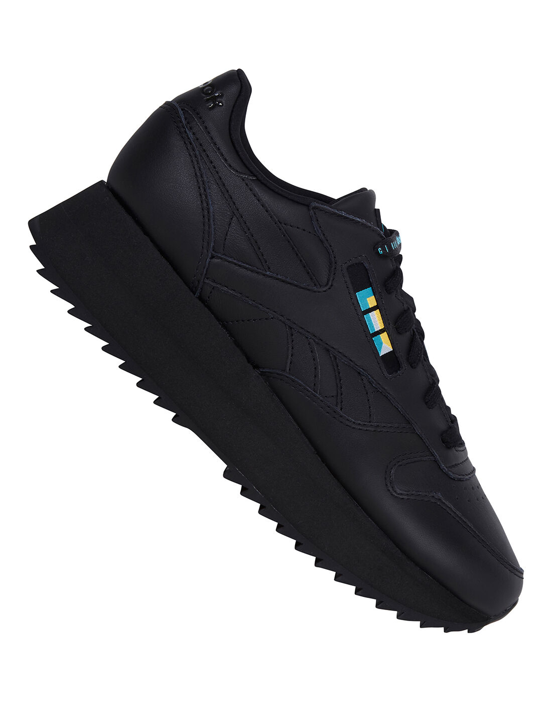 Black Reebok Gigi Hadid Classic Leather