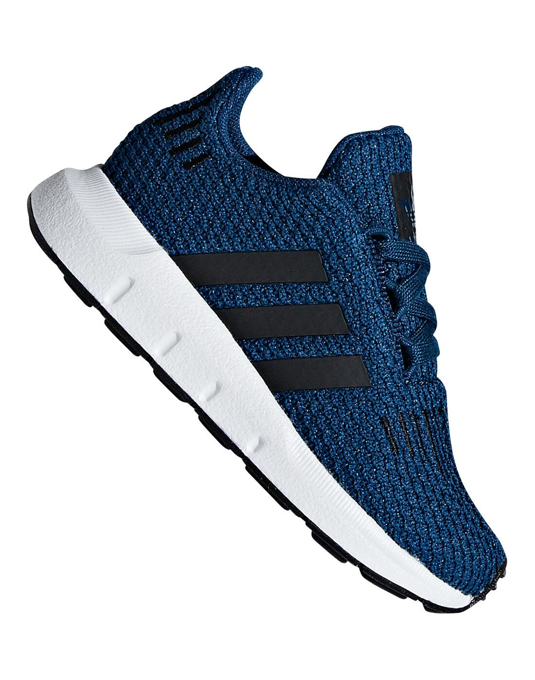 Blue adidas Originals Swift Runs