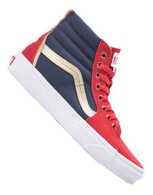 Womens Sk8-Hi Captain Marvel