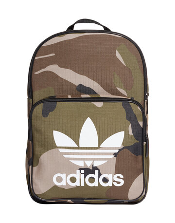 Classic Camo Print Backpack
