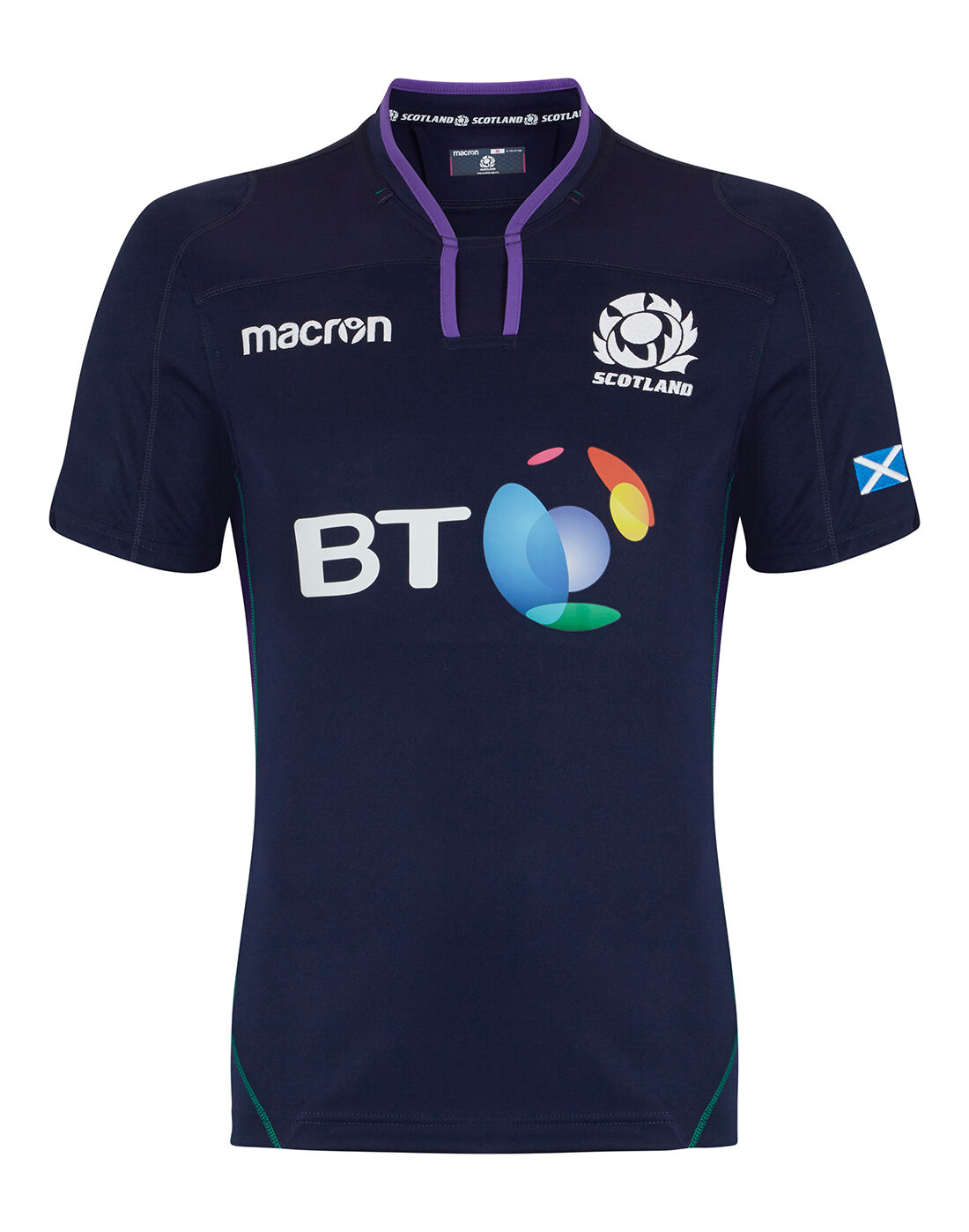 Number Six Scotland Six Nations 2018 Kids Rugby Hoodie Clothes, Shoes & Accessories Hoodies