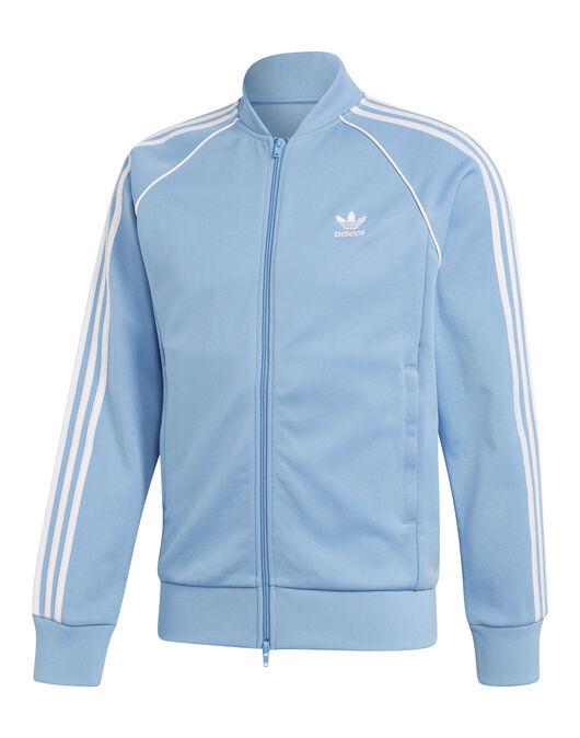 buy popular 9e37e b135e Men's adidas Originals Superstar Track Top | Blue | Life ...