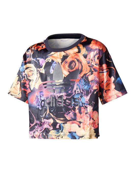 dd7ab4698dd adidas Originals Older Girls Originals Rose Crop T-Shirt | Life ...