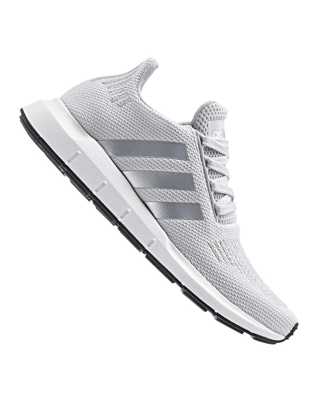 Adidas Originali Donne Swift Run Grey Dello Stile Di Vita Sportiva