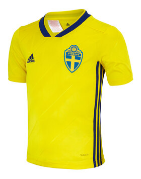 Kids Sweden WC 2018 Home Jersey
