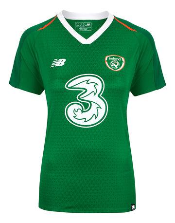 Womens Ireland Home Jersey