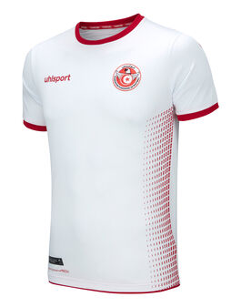 Mens Tunisia Home WC18 Jersey