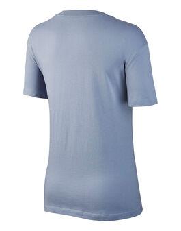 Womens Metallic Swoosh T-Shirt