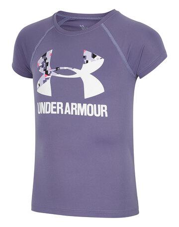 Older Girls Solid Logo T-Shirt