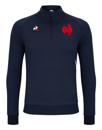 Adult France Quarter Zip Top