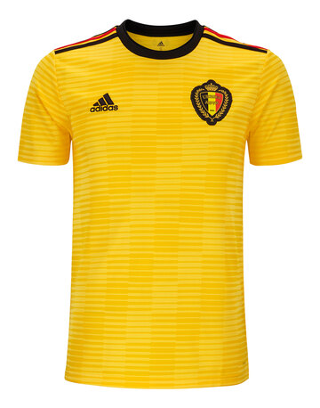 9fff80a6ea9 Adult Belgium WC18 Away Jersey ...