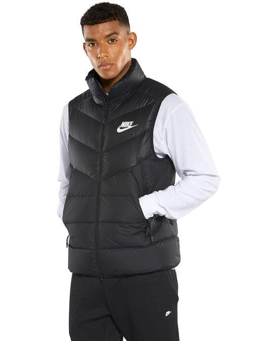 No quiero Tierra Dependencia  Men's Black Nike Windrunners Vest | Life Style Sports