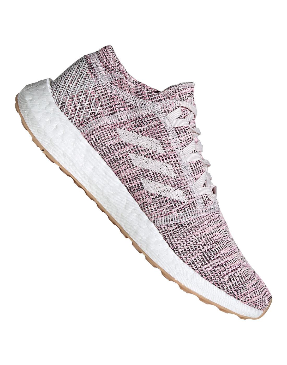 Women's Purple adidas Pureboost Go