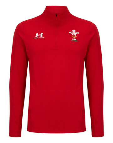 Adult Wales Quarter Zip Top 2019/20