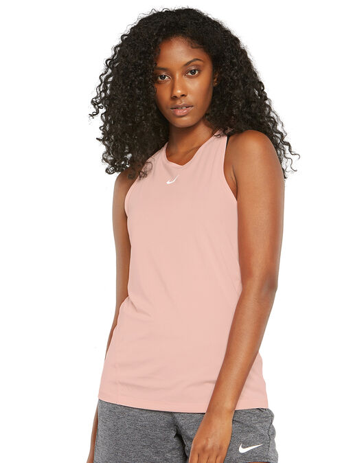 Womens All Over Mesh Tank Top