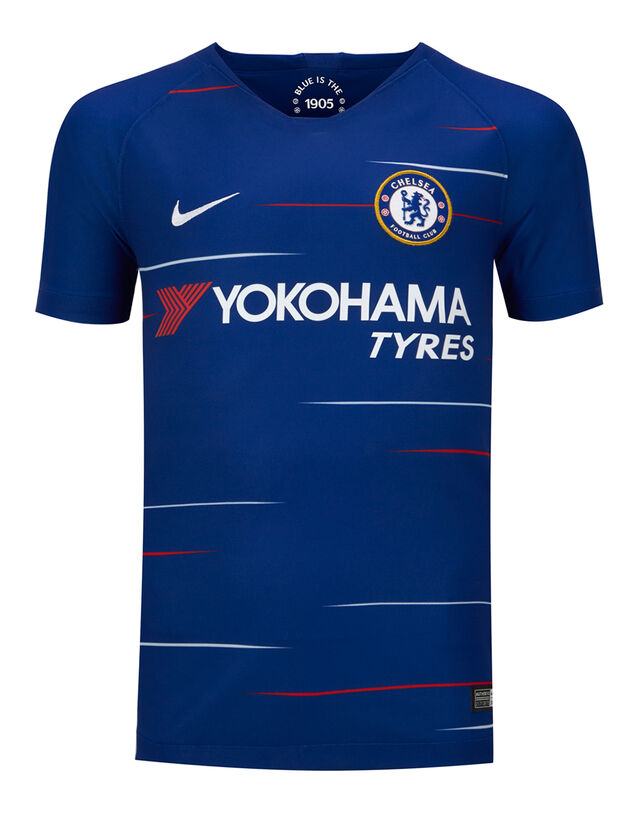 Image of Kids Chelsea Home 18/19 Jersey