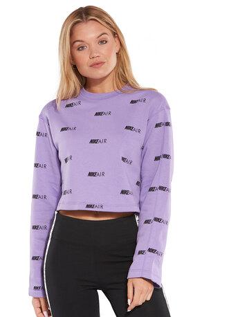 Womens Air Fleece Crew Sweatshirt