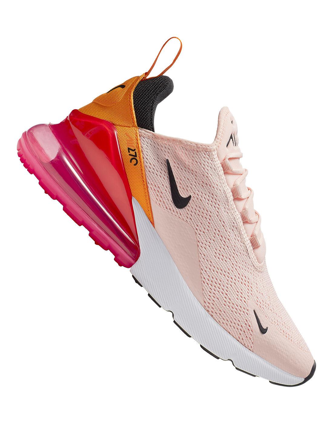 Women's Pink \u0026 Peach Nike Air Max 270