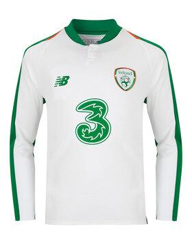 Kids Ireland Away Jersey LS