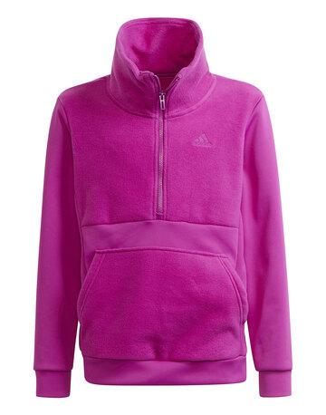 Older Girls Half Zip Sweatshirt