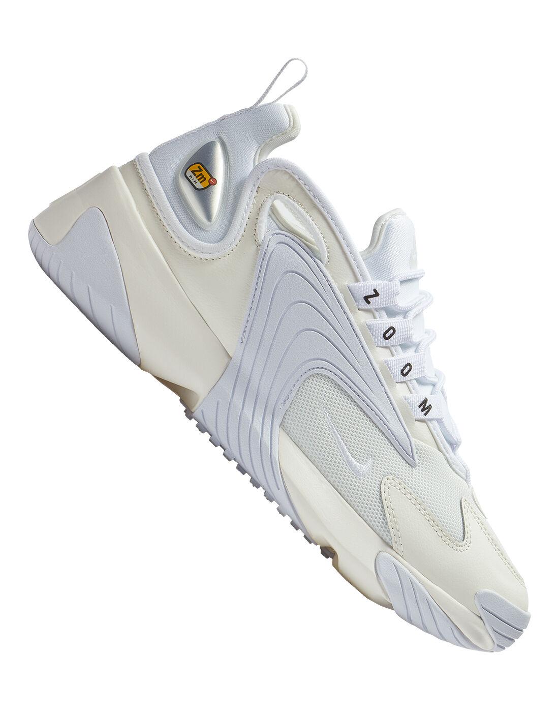 Women's White Nike Zoom 2K   Life Style Sports