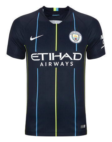 a08b23ff9 Adult Man City 18 19 Away Jersey ...