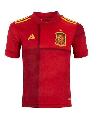 Kids Spain Euro 2020 Home Jersey