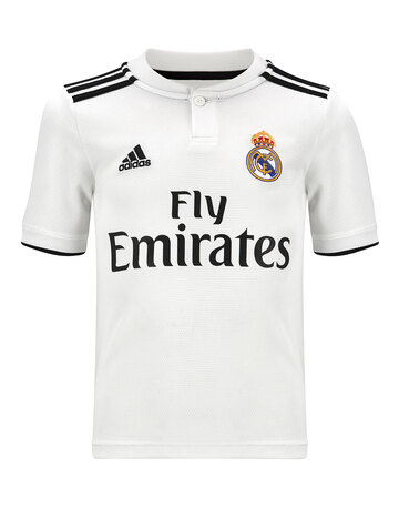 a63231b44 Kids Real Madrid 18 19 Home Jersey ...
