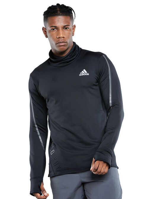 Mens Running COLD RDY High Collar Sweatshirt