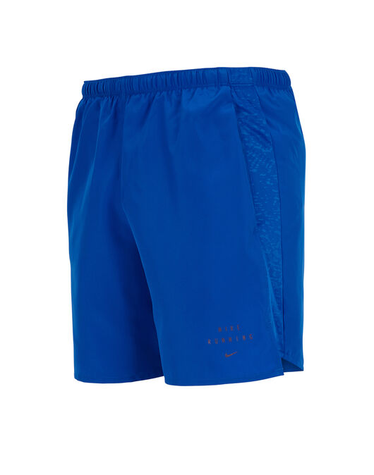 Mens Run Division Challenger 7 Inch Shorts