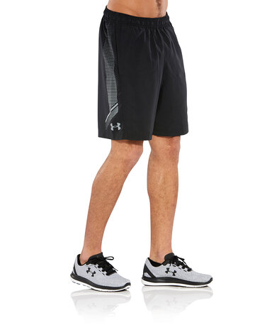 Mens Woven Graphic Shorts