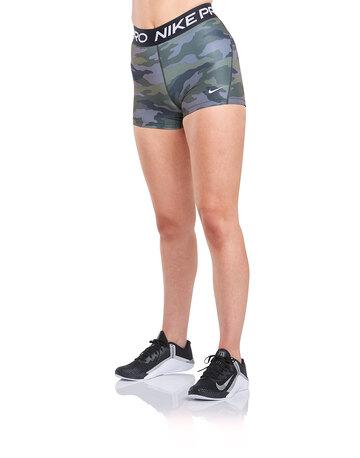 Womens 3 inch Pro Camo Shorts