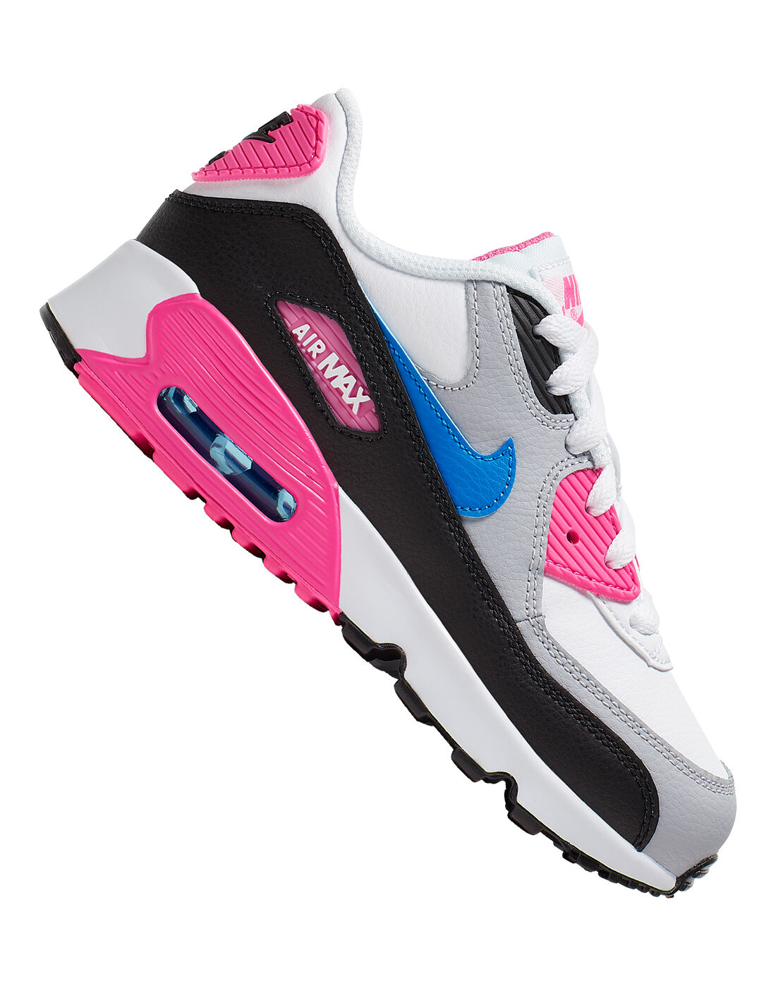 Girls Nike Air Max 90 Leather | Pink | Life Style Sports