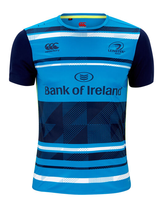 Mens Leinster Poly Graphic Tee