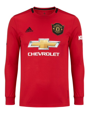 0b1554558 Adult Man Utd Home 19 20 Jersey LS ...