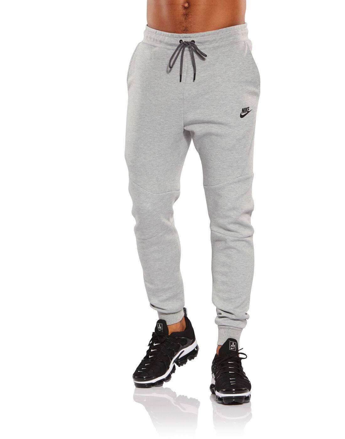 Nike Mens Tech Fleece Joggers - Grey